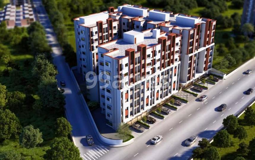 Samruddhi Residency 3 Aerial View