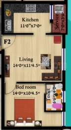 1 BHK Apartment in Samy Homes