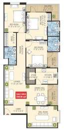 3 BHK Apartment in SDC Gateway