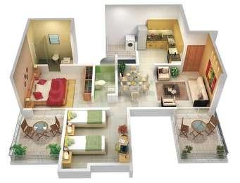 2 BHK Apartment in Sankla Gemini Park Avenue