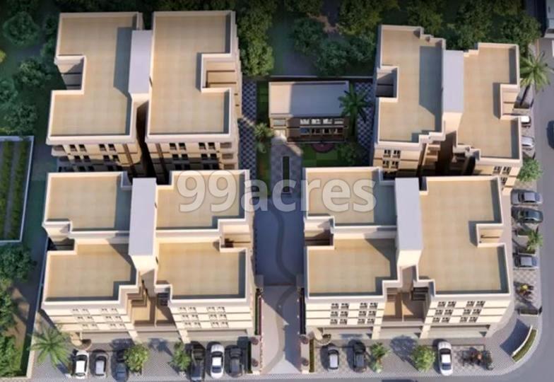 Saral Life Arena Artistic Aerial View