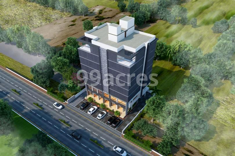 Saransh 2 The Business Hub Aerial View