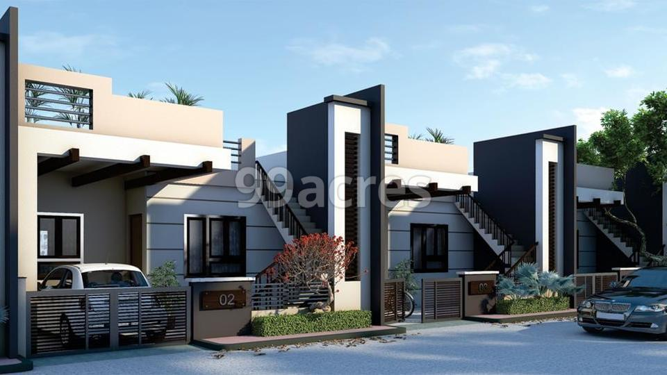 Sarla Estate Artistic Front Elevation 1