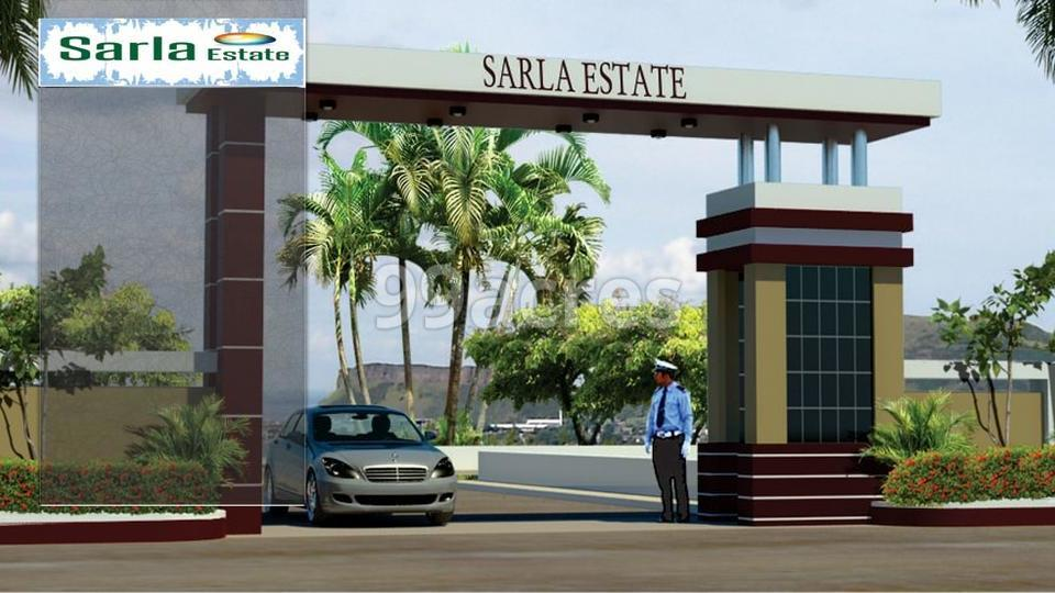 Sarla Estate Artistic Entrance