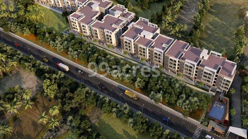 Saroj Bluebells Aerial View