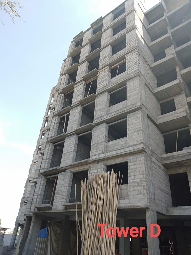 Sarva Shubham Park construction status 07/01/2020