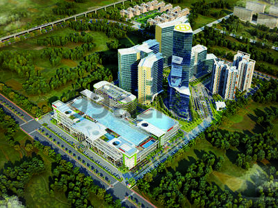 DAH Greentech DAH Greentech NX ONE Mall Techzone 4 Greater Noida West