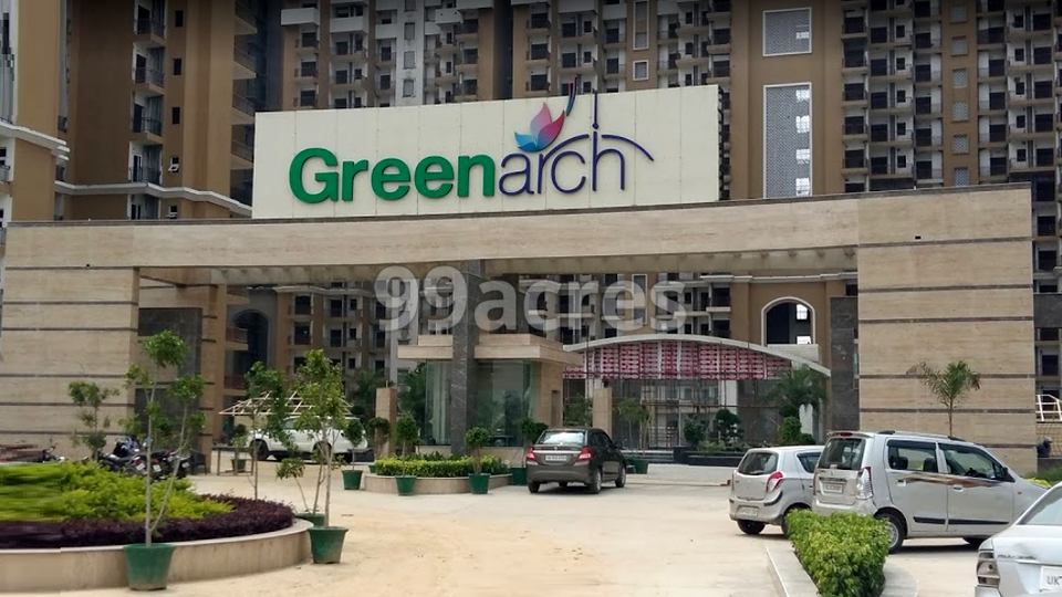 Saviour Greenarch Entrance