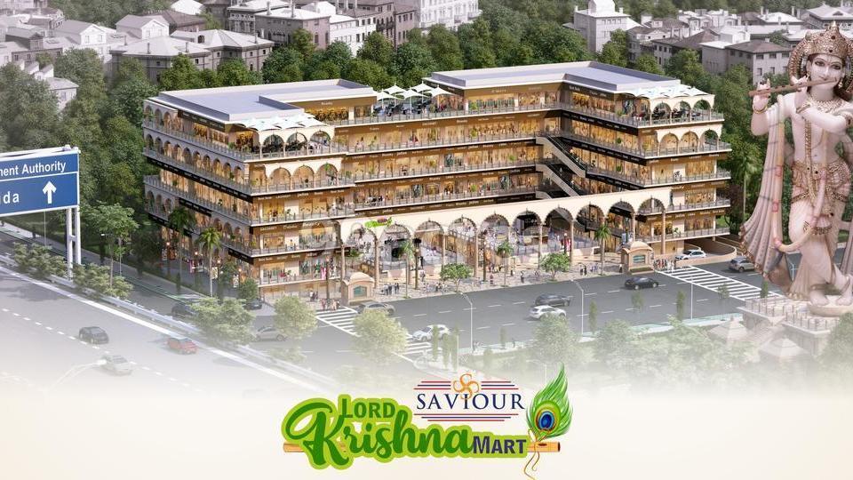 Saviour Lord Krishna Mart Elevation