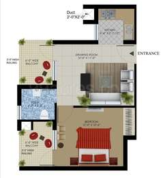 1 BHK Apartment in SBP Housing Park