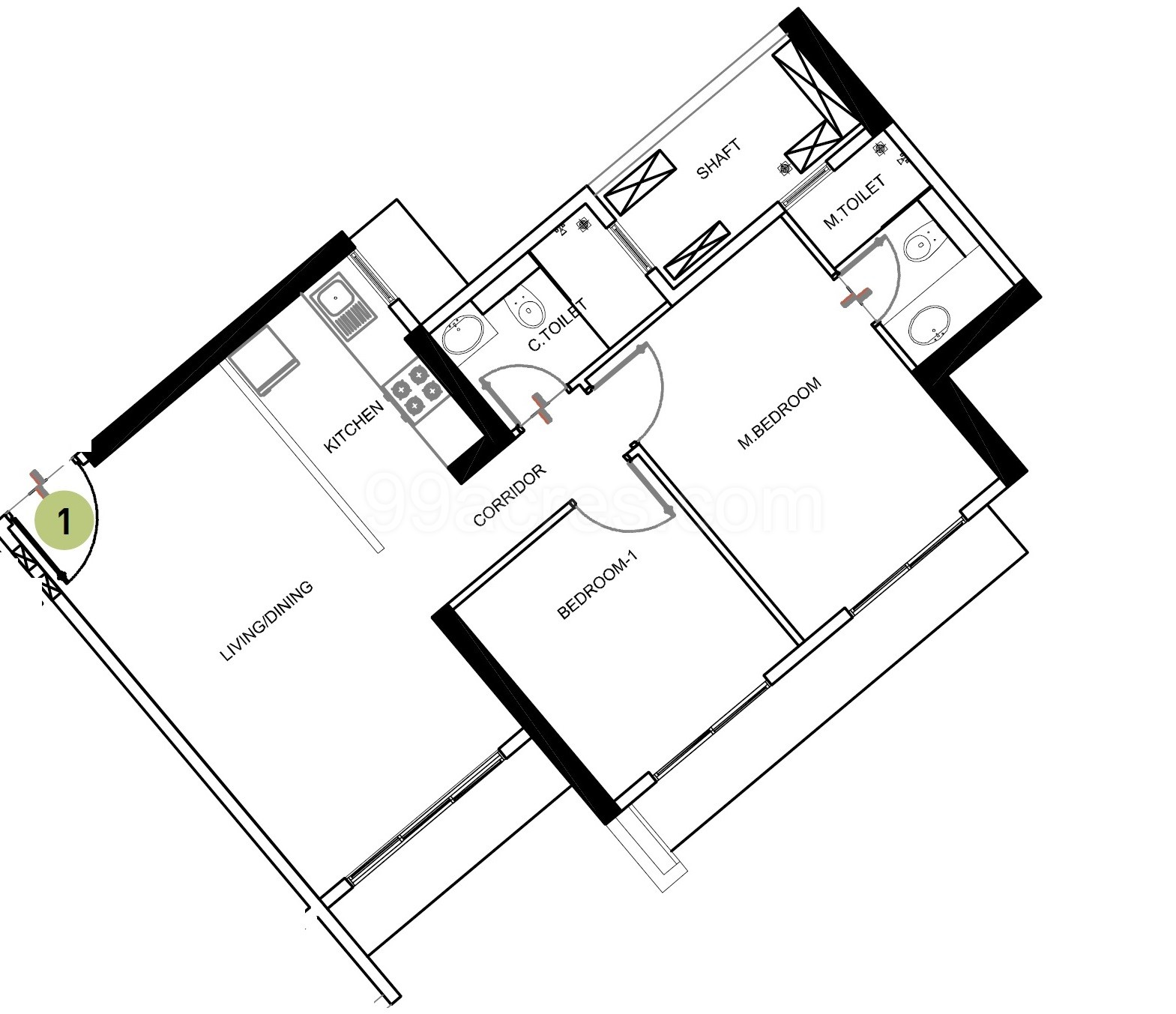 Sd Floor Plan further Rambler House Plans in addition 10143 furthermore Three Level Home Floor Plans Layouts besides Bungalow House Plans Single Storey. on best 3 bedroom house plans