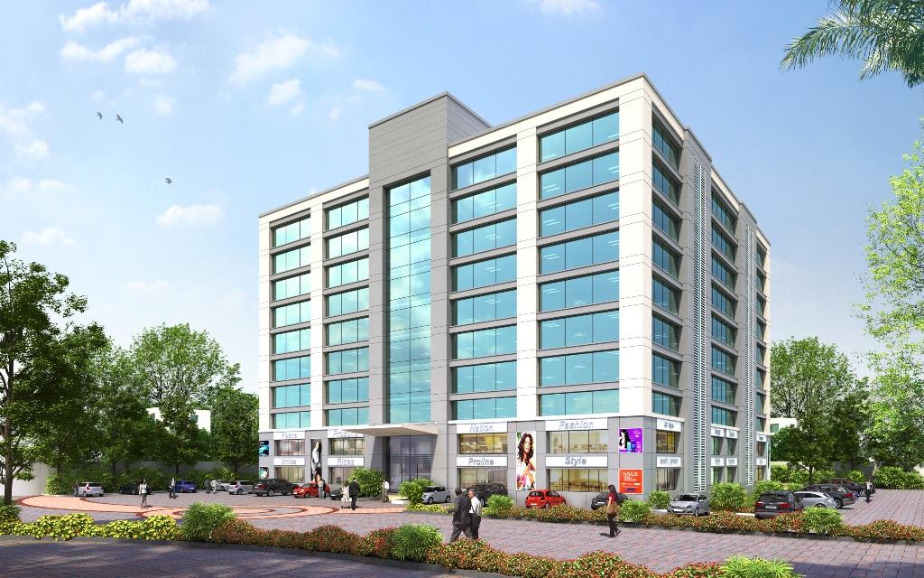 Indiabulls Mega Mall Elevation