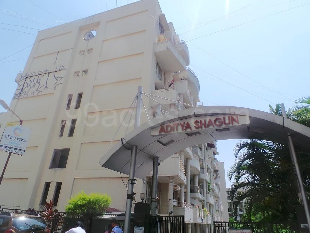 Aditya Shagun Elevation View with Entrance