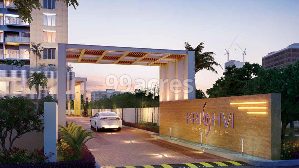 Shagun Krishvi Residency Entrance