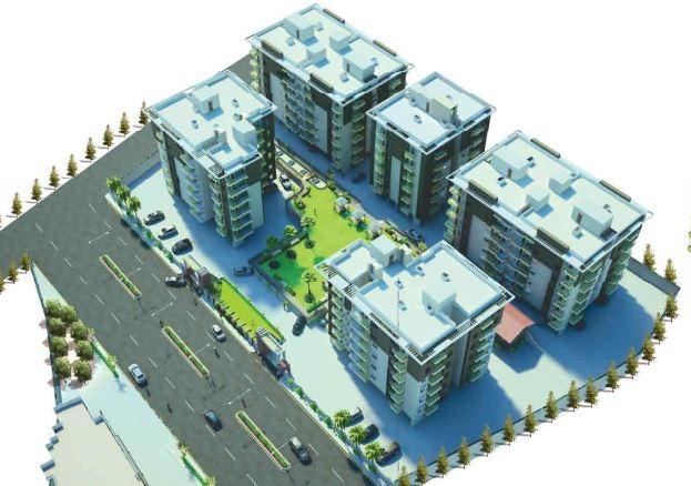 Shaligram Rudraksh Park phase 2 Aerial View