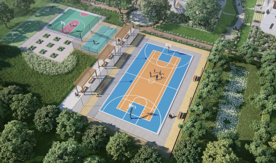 Shalimar One World Valencia County Amenities View