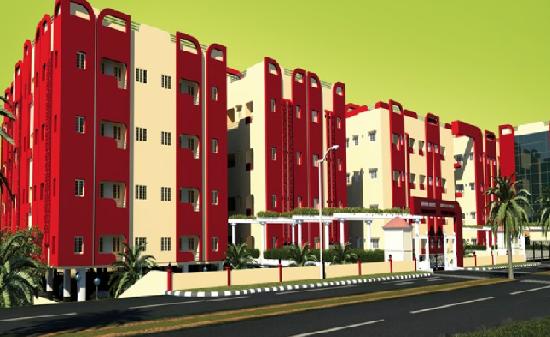 Shankar Lakshumi Vaasam Phase 2 Elevated View