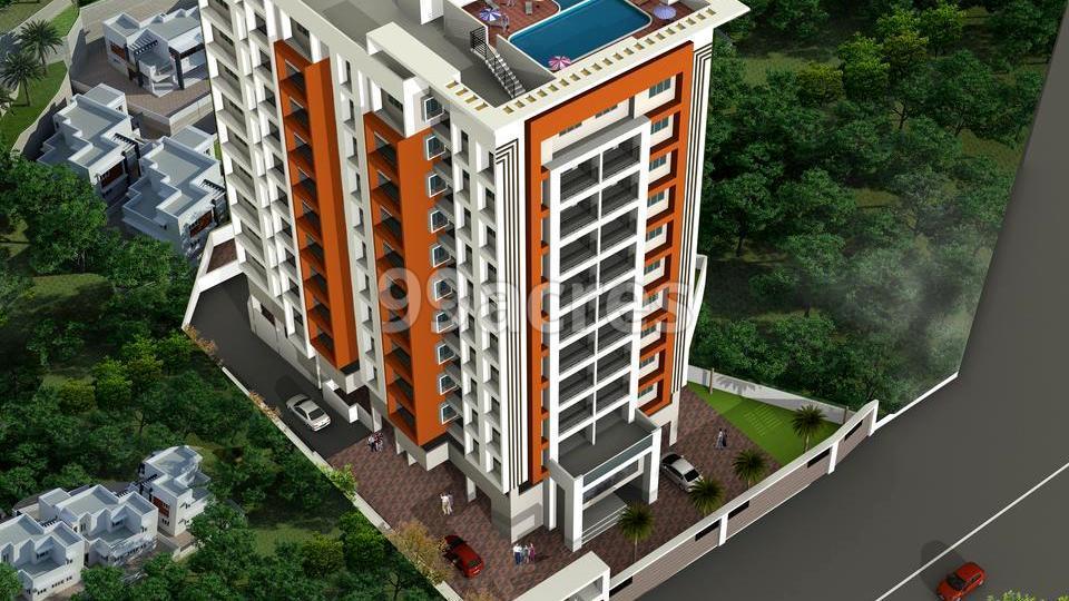 Shanoor Metro Square Aerial View