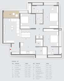 3 BHK Apartment in Shilp Shaligram