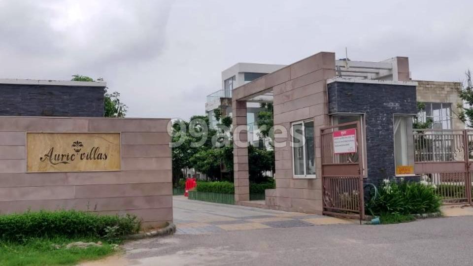 Auric Villas Prime Entrance