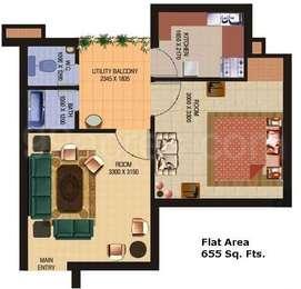 1 BHK Apartment in Shourya Greens