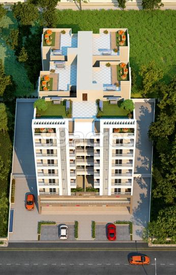 Shree Sparsh Residency Aerial View