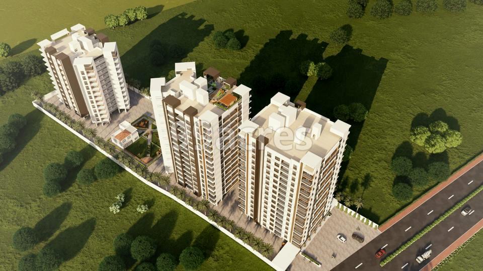 Shree Krishna Sentosa Pride Aerial View