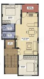 2 BHK Apartment in Shree Laxmi 1