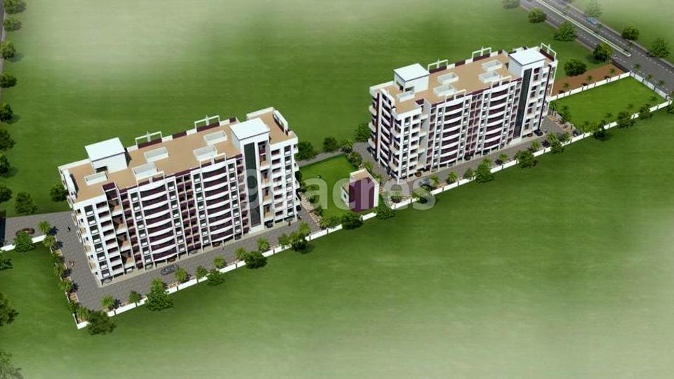 Kalp Residency Aerial View