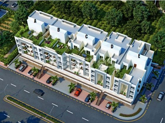 Shree Swaminarayan Niketan Aerial View