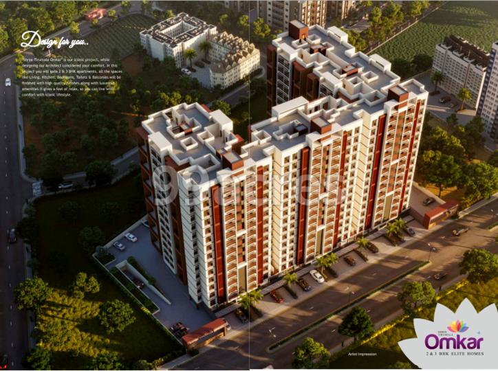 Shree Tirumala Omkar Apartment Aerial View