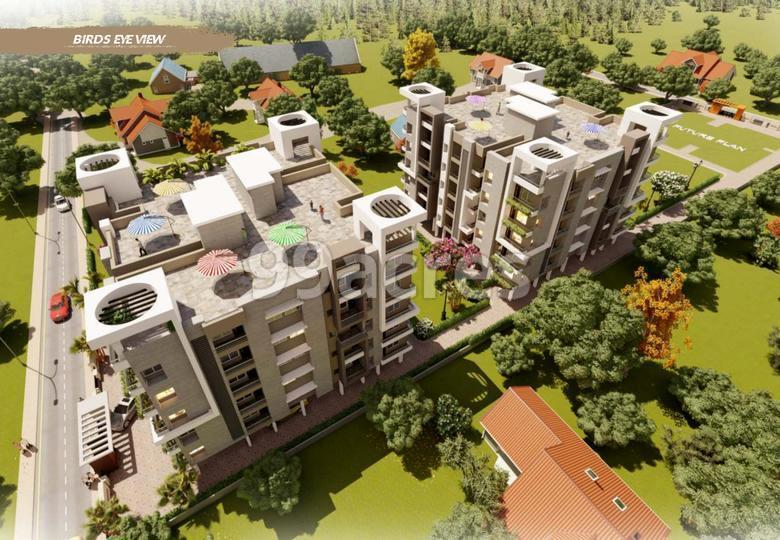 Shree Ramdeo Garden Aerial View
