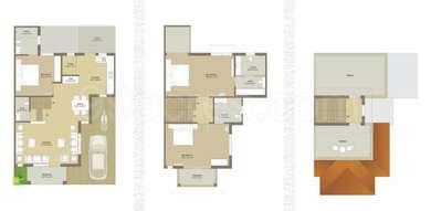 3 BHK Villa in Supercity