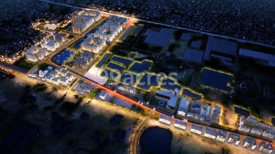 Shriram Grand City Aerial View