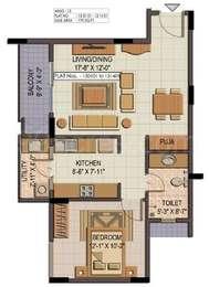 1 BHK Apartment in Shriram Summitt