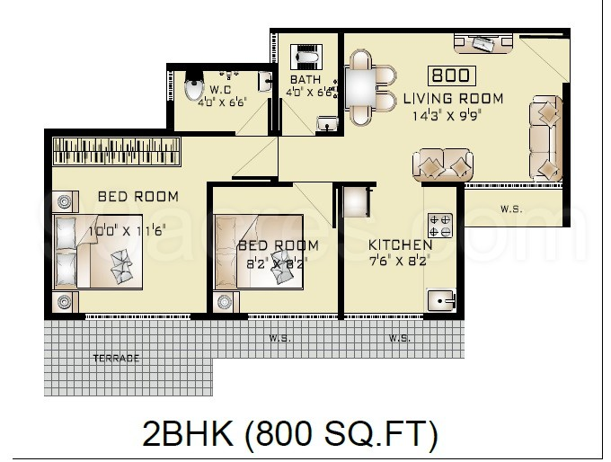 Amby House Studiotype 800 Sq Ft Construction Includes Myestatepoint  Microsite Nalsafari  Modern Style House Plan. Indian House Plan For 800 Sq Ft   Cxpz info