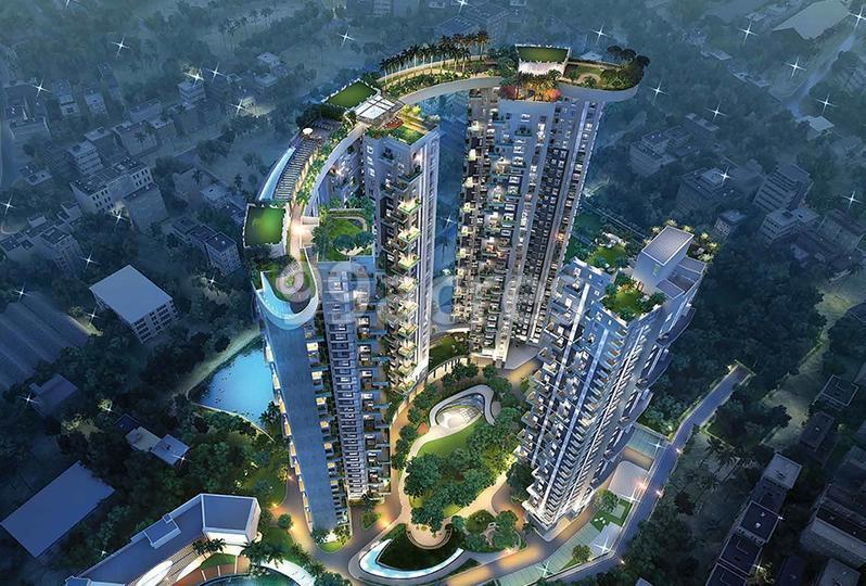 Siddha Sky Aerial View
