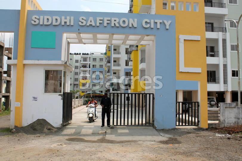 Siddhi Saffron City Entrance