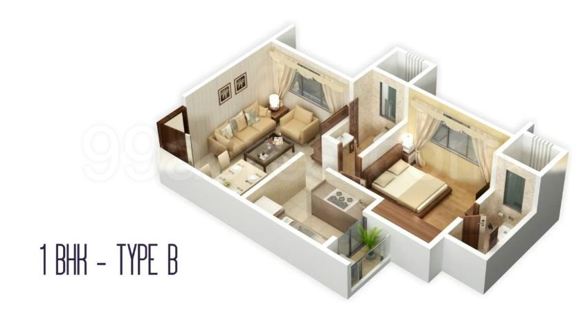 Siddhi Landscapes LLP Aster Floor Plans