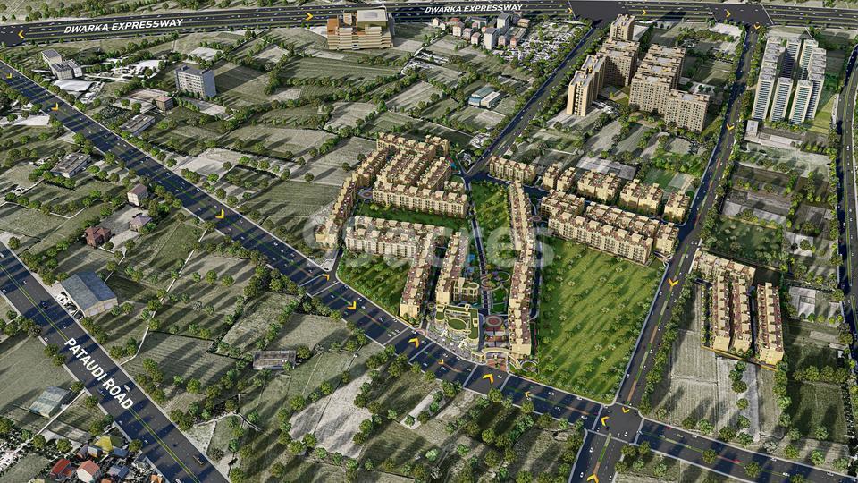 Signature Global City Aerial View