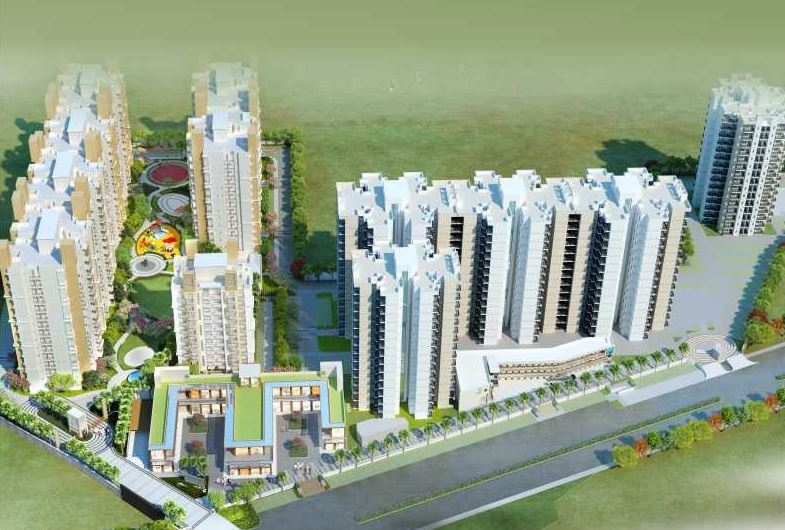 Signature Global Orchard Avenue 2 Aerial View