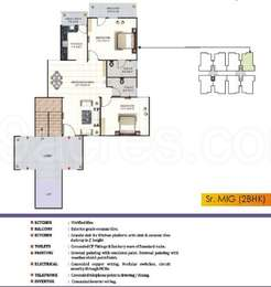 2 BHK Apartment in Signature Residency