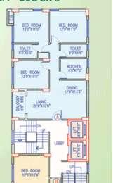 3 BHK Apartment in Signum Gardenia