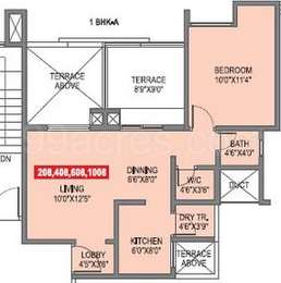 1 BHK Apartment in Silver City
