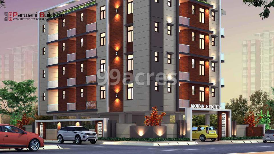 Parwani Mohan Heights Entrance