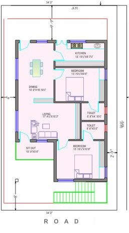 1000 sf home plan popular house plans and design ideas Individual house plans