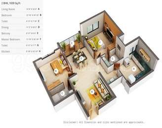 2 BHK Apartment in Skyline Ivy League