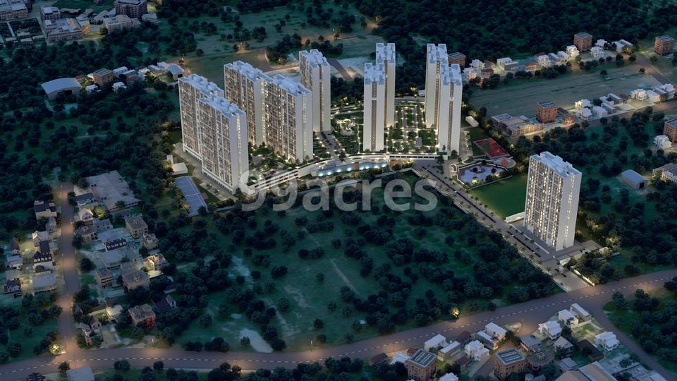 Sobha Dream Gardens Aerial View