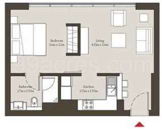 1 BHK Apartment in Sobha Hartland