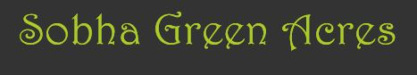 LOGO - Sobha Green Acres